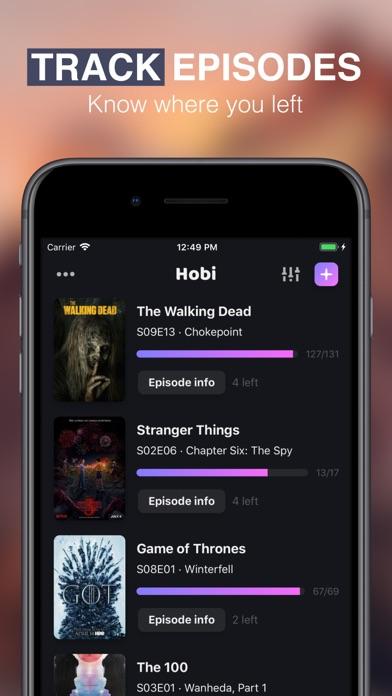 Hobi: TV Show Tracker & Trakt для iPhone скачать бесплатно ...