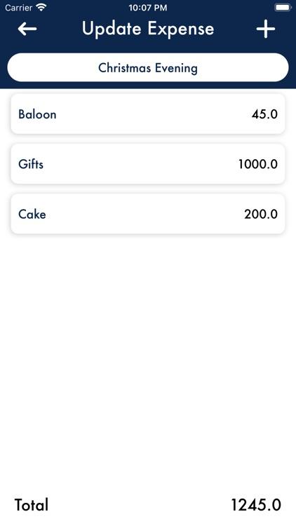 iPocket Expense Tracker screenshot-3