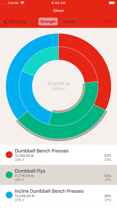 GymBook - Strength trainingのおすすめ画像7