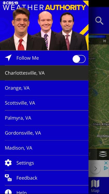 CBS19 Weather Authority screenshot-4
