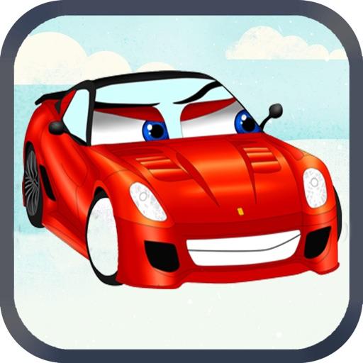 汽车拼图游戏-开发智力益智认知