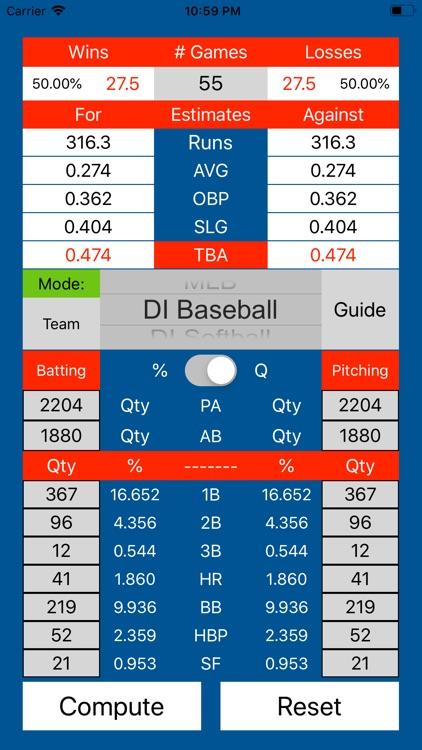 Zone10Stats: Baseball Softball