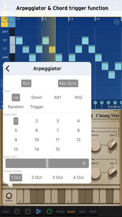 Screenshot #3 pour KORG Gadget