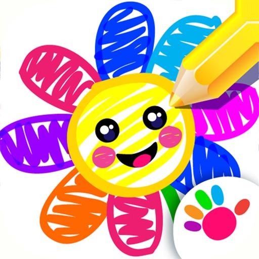 お絵かき 子供 ゲーム 色塗り 数字 幼児 色ぬり アプリ Appgraphy