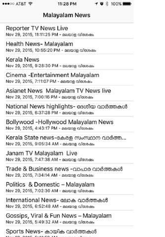 Malayalam News Live - náhled
