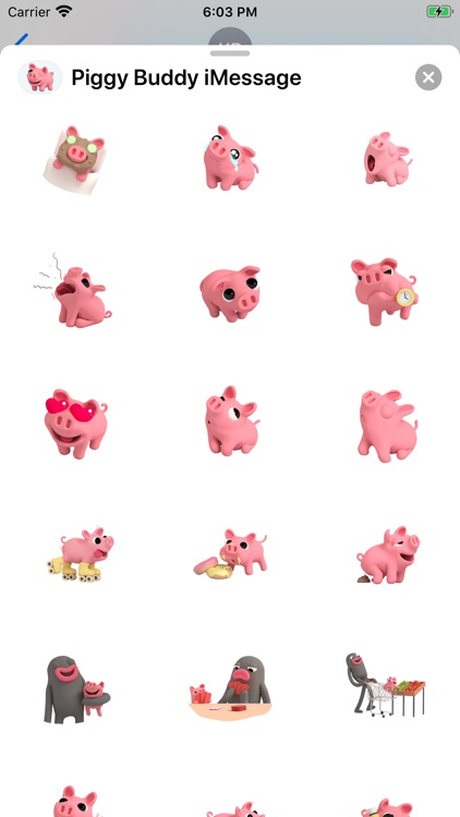 Stickers for Piggy Buddy screenshot-3
