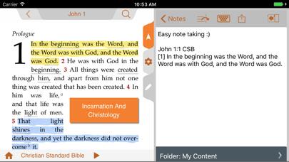 The CSB Study App Screenshot