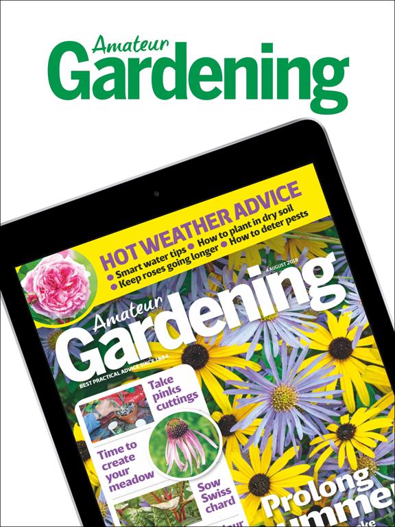 Amateur Gardening Magazine screenshot