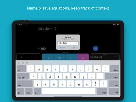 Screenshot #5 pour Xmart Calculator Pro