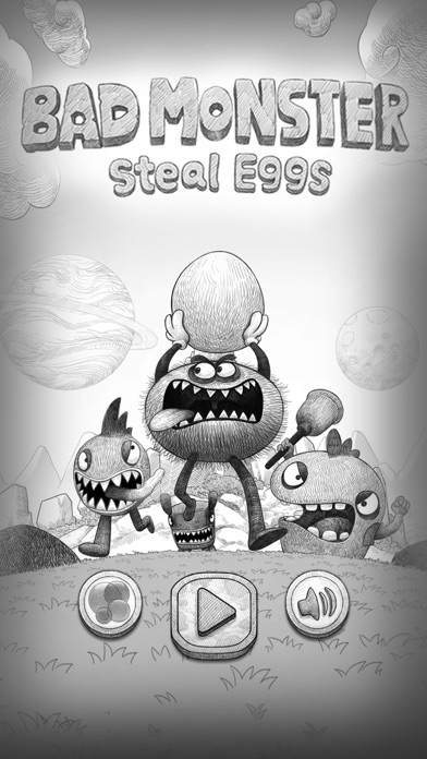Bad Hungry Monster Screenshot on iOS