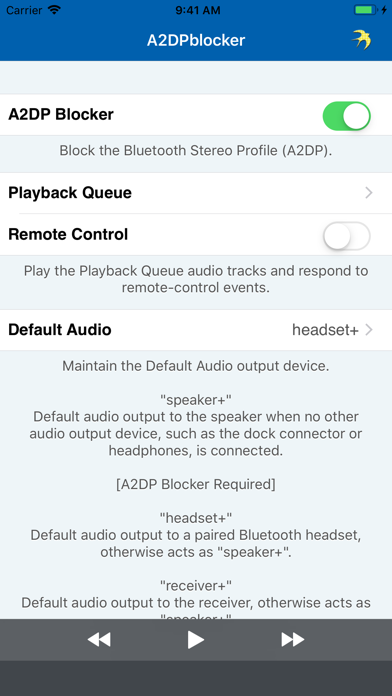 A2DPblocker - Bluetooth Mono IPA Cracked for iOS Free Download