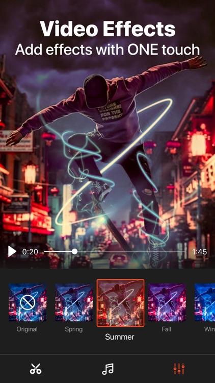 Video Trimmer & video effects screenshot-3