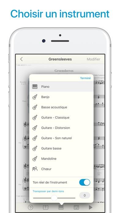 Screenshot for Lecteur de partitions musique in Lebanon App Store