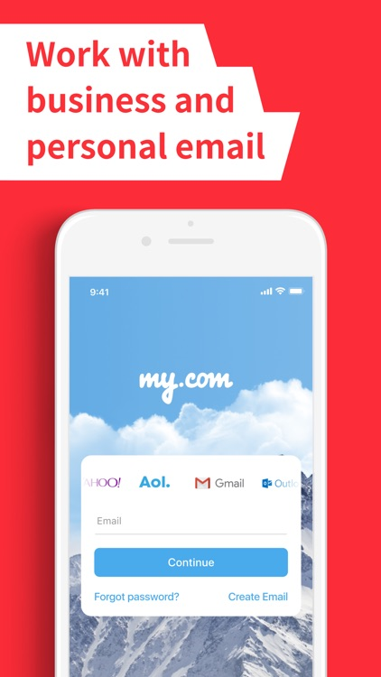 E-mail Client App – myMail screenshot-1