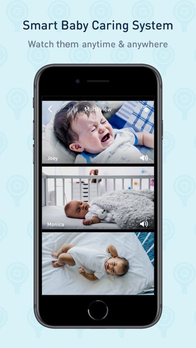 Screenshot #1 pour Lollipop- smart baby monitor