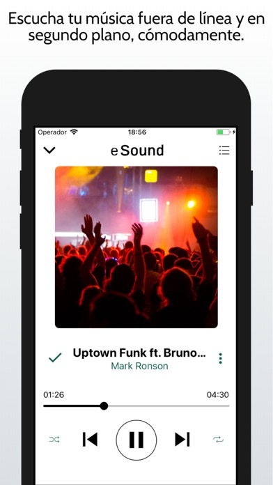 Screenshot for eSound Music in Mexico App Store