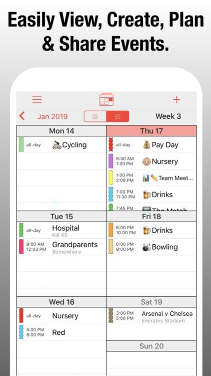 PocketLife Calendar screenshot-5