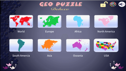Screenshot for Geo Puzzle Deluxe in Egypt App Store