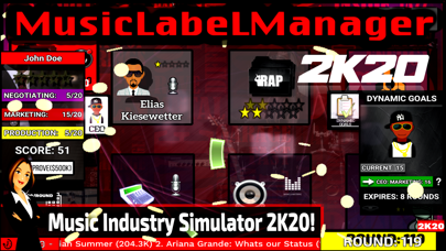 Music Label Manager 2K20 screenshot 1