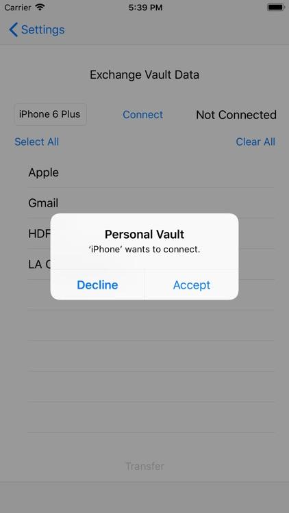 Personal Vault screenshot-3