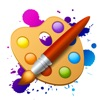 绘画大师 画画游戏:涂色绘本数字填色软件
