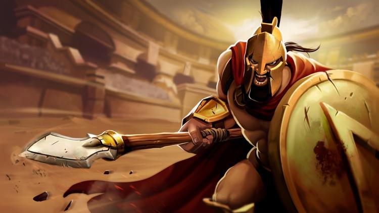 Gladiator Heroes - Clans Clash screenshot-4