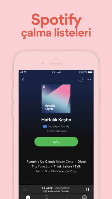 Screenshot for Spotify - Müzik ve Podcast'ler in Turkey App Store