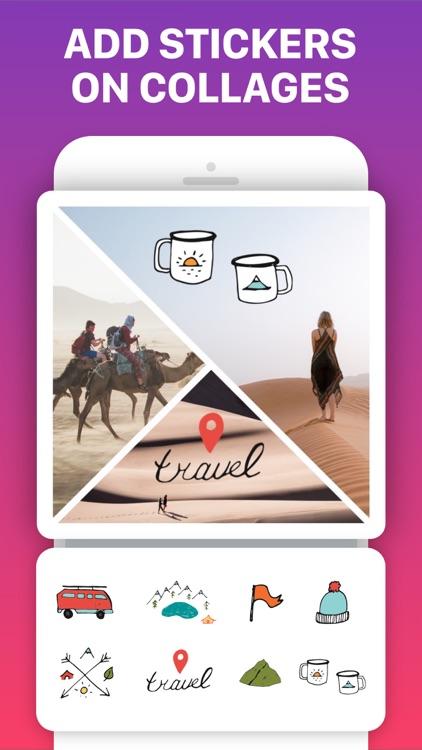 Photo Collage Maker & Pic Grid screenshot-5