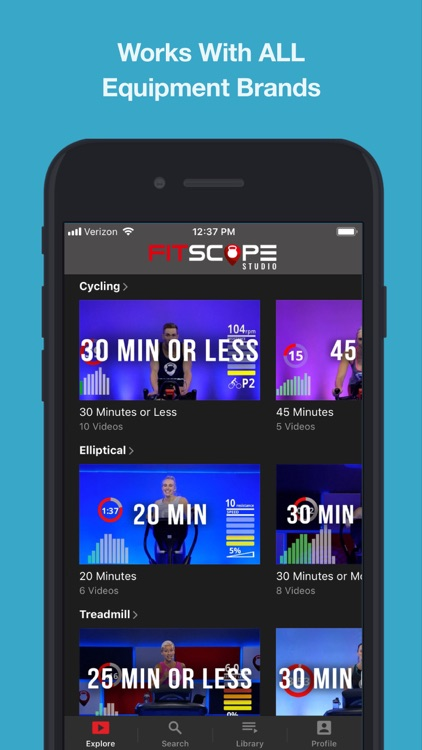 Fitscope Studio: HIIT Workouts screenshot-2