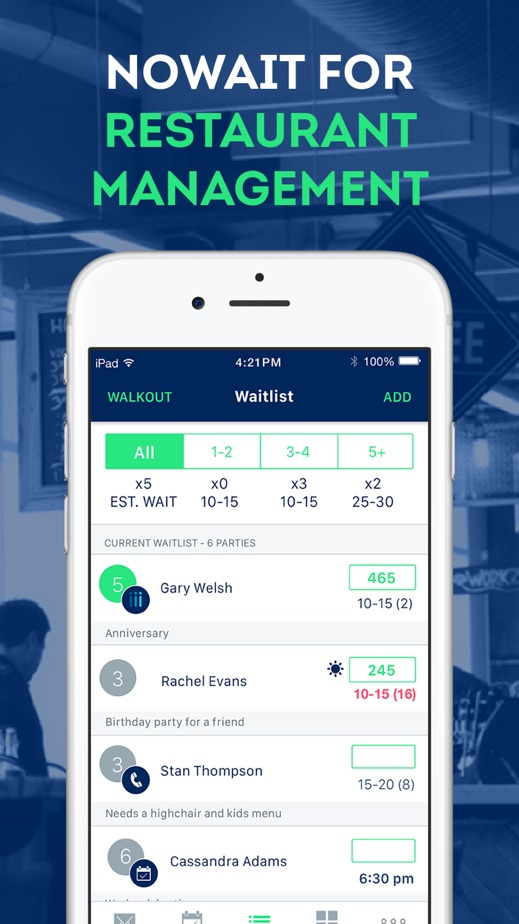 Yelp Waitlist (Nowait)】版本记录- iOS App版本更新记录|版本号