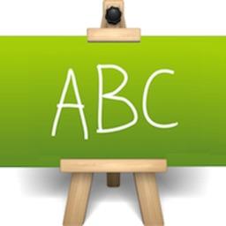 英文字母表-趣味英语卡片学英语字母