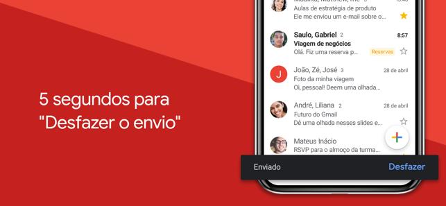 Gmail: Email do Google Screenshot