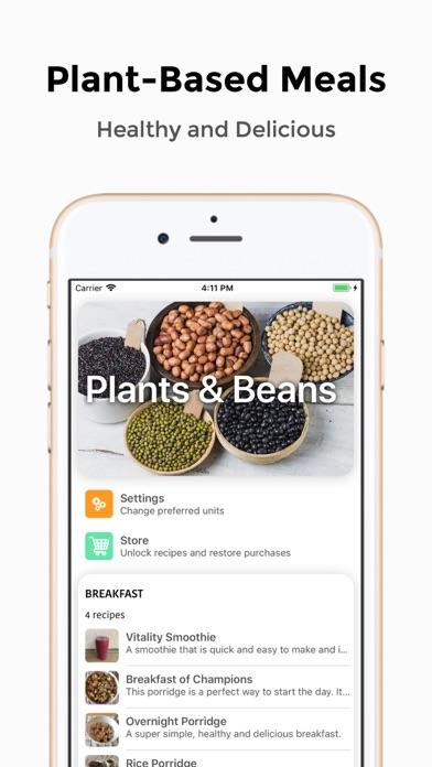 Plants & Beans screenshot one