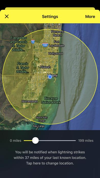 My Lightning Tracker Pro Screenshot