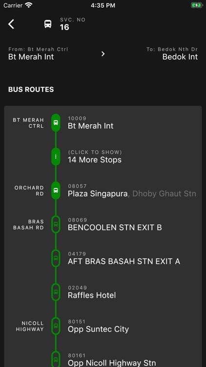 SG Bus Arrival screenshot-3