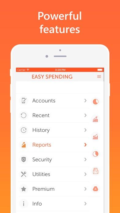 Easy Spending, Expense tracker