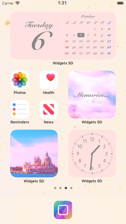 Widgets SD - Photo & Calendar screenshot-0