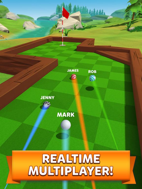 iPad Image of Golf Battle