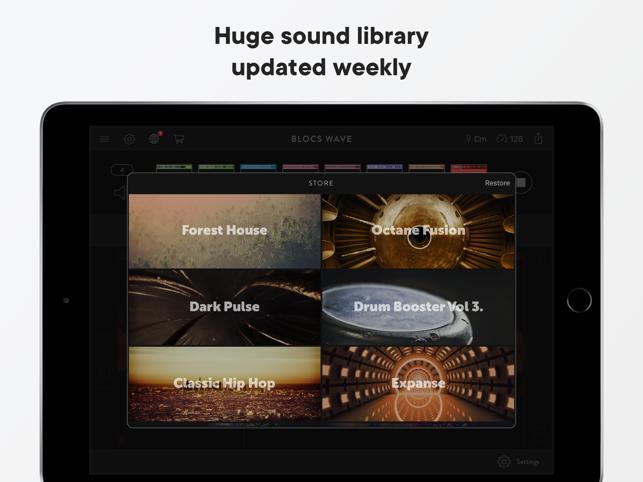 Blocs Wave: Record Music Live Screenshot