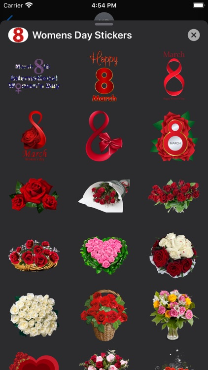 Happy Women's Day Sticker-Pack screenshot-3