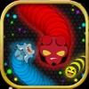 スネーク スリザリオ PvP.  ヘビとワームの ゲーム - iPhoneアプリ