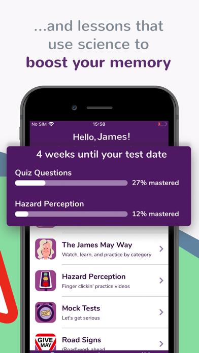 My Theory Test by James May screenshot three