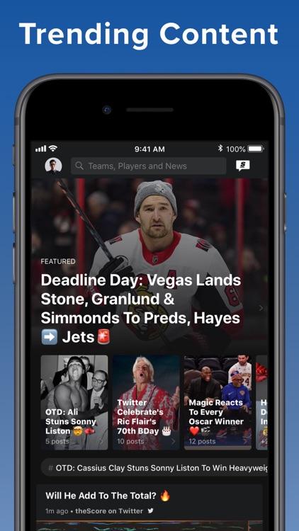 theScore: Sports News & Scores screenshot-8