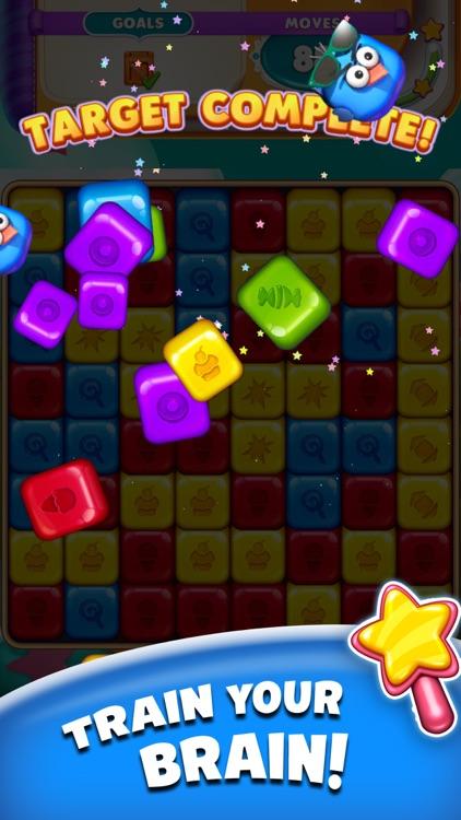 Cartoon Crush Pop Block Puzzle screenshot-7