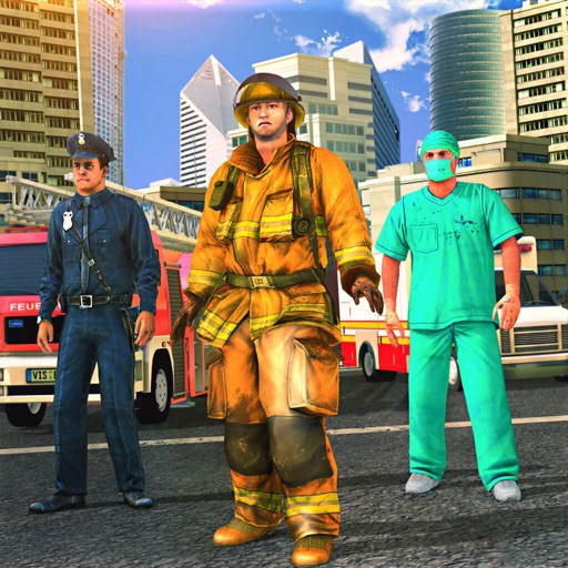 911 Emergency Hero Rescue Sim