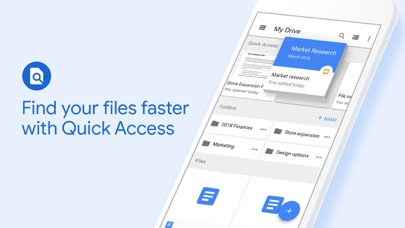 Google Drive Screenshot on iOS