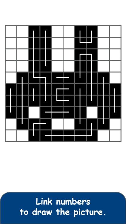 FCross Link-a-Pix Puzzles screenshot-3
