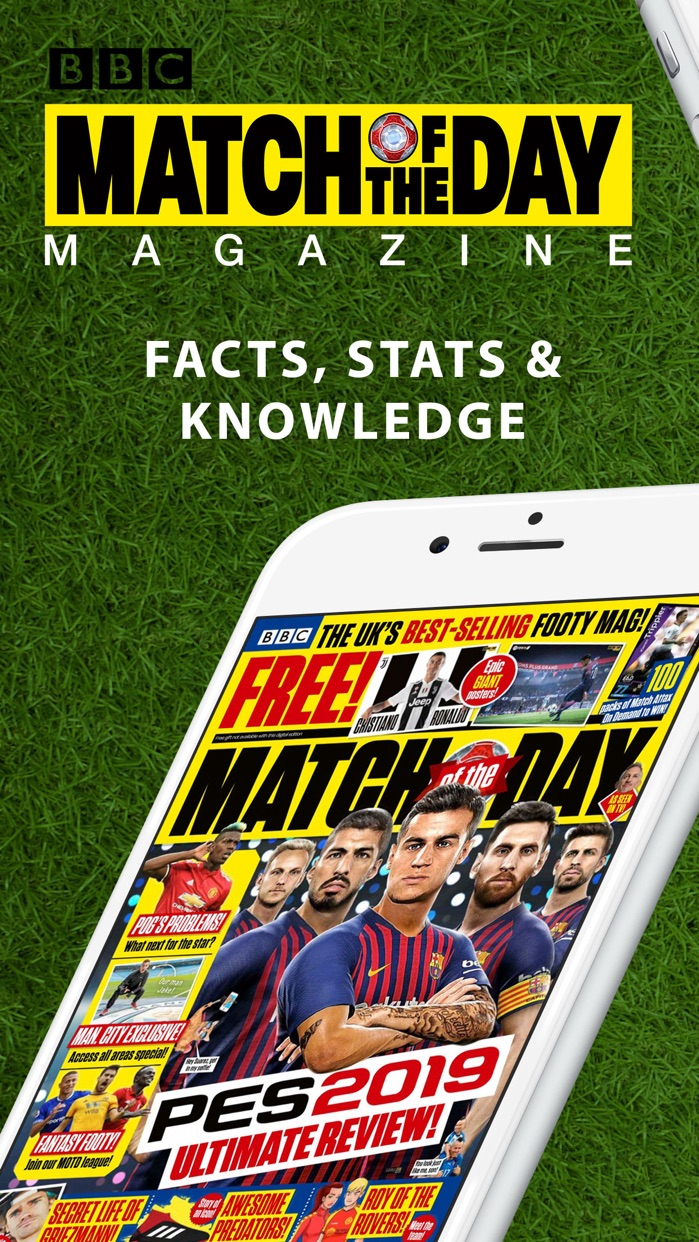 BBC Match of the Day magazine Screenshot