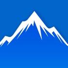 Abfahrt - ski/snowboard icon