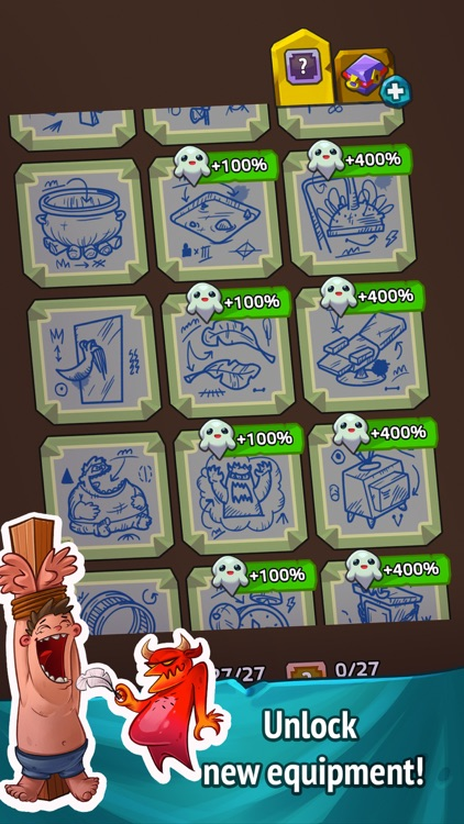 Idle Hell Clicker: Tycoon game screenshot-4